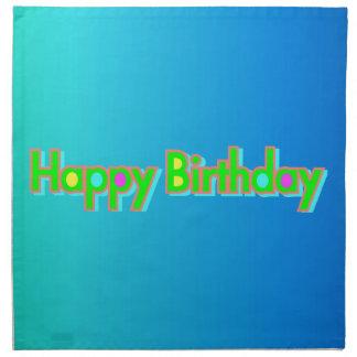 Alles Gute zum Geburtstag Serviette