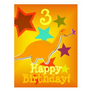 Alles Gute zum Geburtstag spielt Postkarte