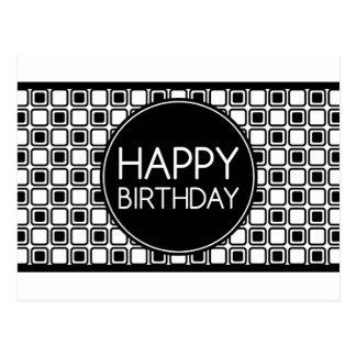 alles Gute zum Geburtstag (studioSquares) Postkarte