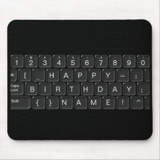 """Alles Gute zum Geburtstag"" Tastatur Mousepad"