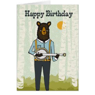 Alles Gute zum Geburtstag - tragen Sie, Karte