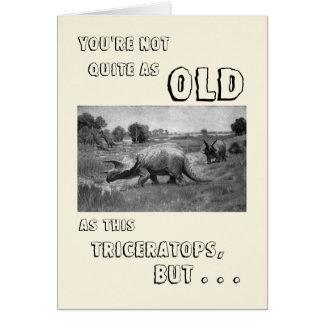 Alles Gute zum Geburtstag zu einem Dinosaurier Karte