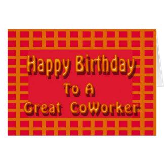 Alles Gute zum Geburtstag zu einem großen Karte