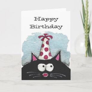 Geburtstags Fur Katzenliebhaber Karten Zazzle De