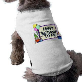Alles Gute zum Geburtstag zu mir Junge Haustierkleidung