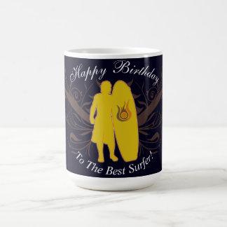 Alles Gute zum Geburtstag zur besten Surfer Kaffeetasse