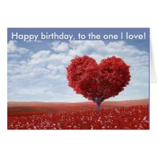 Alles Gute zum Geburtstag zur einer i-Liebe Karte