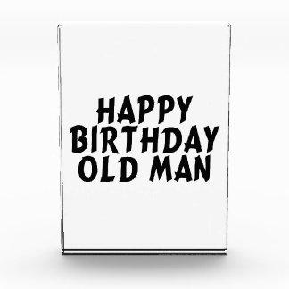 Alles- Gute zum Geburtstagalter Mann Auszeichnung