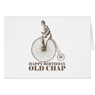 Alles- Gute zum Geburtstagalter Typ Karte