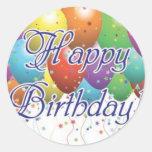 Alles- Gute zum Geburtstagaufkleber