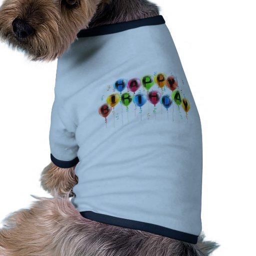 Alles Gute zum Geburtstagballone Haustier Tshirt