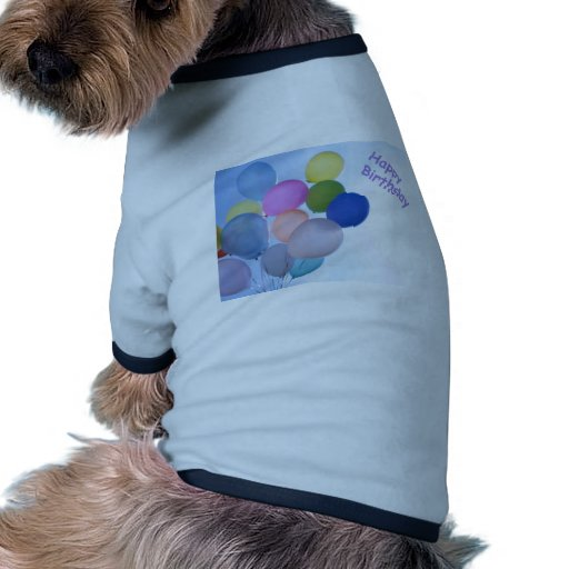 Alles- Gute zum Geburtstagballone Hund T Shirts