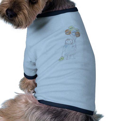 Alles- Gute zum Geburtstagballone Hund Tshirts