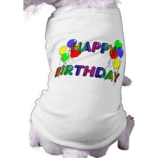 Alles Gute zum GeburtstagBallons D1 Hunde T Shirt