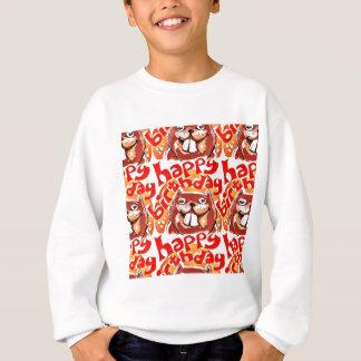 alles- Gute zum GeburtstagCartoonartillustration Sweatshirt