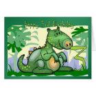 Alles- Gute zum Geburtstagdinosaurier-Karten-3. Karte