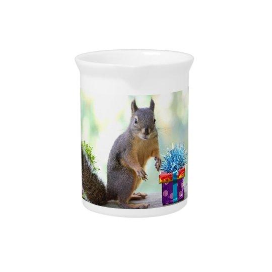 Alles- Gute zum Geburtstageichhörnchen Getränke Krug
