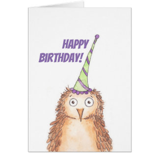 Alles- Gute zum Geburtstageule Karte