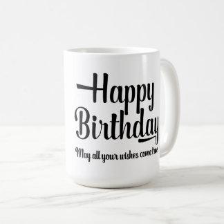 Alles- Gute zum Geburtstagextravagante Kaffeetasse
