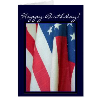 Alles- Gute zum GeburtstagFlaggegrußkarte Karte