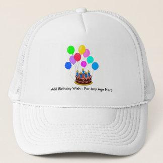 Alles- Gute zum Geburtstaghut - fertigen Sie Ihr Truckerkappe