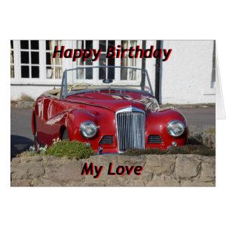 Alles- Gute zum Geburtstagkarte für Ehemann, Sohn Karte