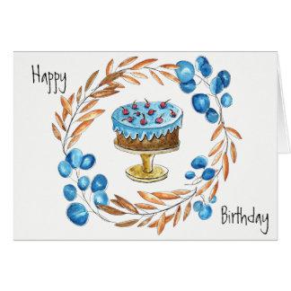 Alles Gute zum Geburtstagkarte Karte