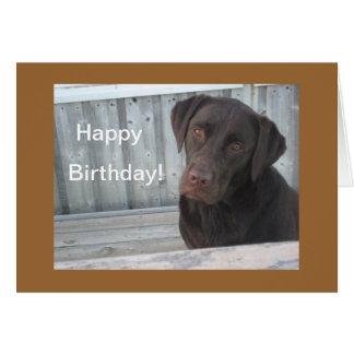 Alles- Gute zum Geburtstagkarte - Karte