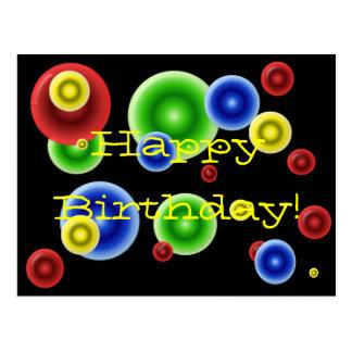 Alles- Gute zum Geburtstagkreise Postkarten