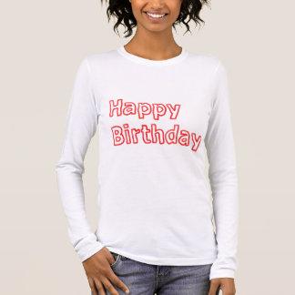 Alles- Gute zum Geburtstagkünstlerische Skript DLT Langarm T-Shirt