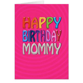 Alles- Gute zum Geburtstagmama - glücklicher Grußkarte