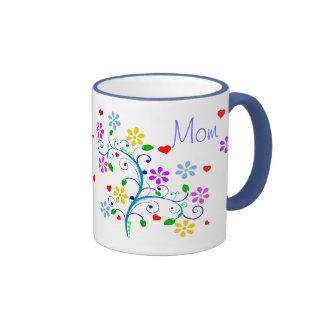 Alles- Gute zum Geburtstagmamma blühte Schale mit Ringer Tasse