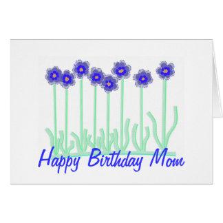 Alles- Gute zum Geburtstagmamma-Blumen-Karte Grußkarte