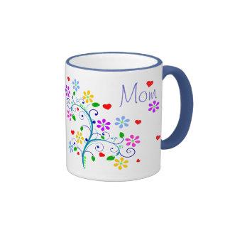 Alles- Gute zum Geburtstagmamma-Blumen-Schale mit Ringer Tasse