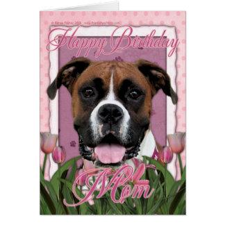 Alles- Gute zum Geburtstagmamma - Boxer - Vindy Grußkarte