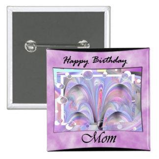 Alles- Gute zum Geburtstagmamma Anstecknadel