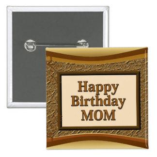 Alles- Gute zum Geburtstagmamma Anstecknadelbuttons