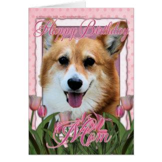 Alles- Gute zum Geburtstagmamma - Corgi - Owen Grußkarte