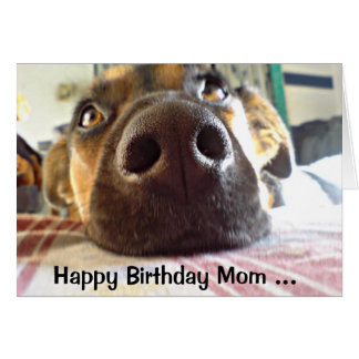 Alles- Gute zum Geburtstagmamma die, die ich oben Grußkarte