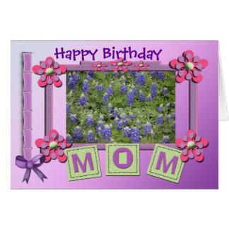 Alles- Gute zum Geburtstagmamma, die Ihre Grußkarte