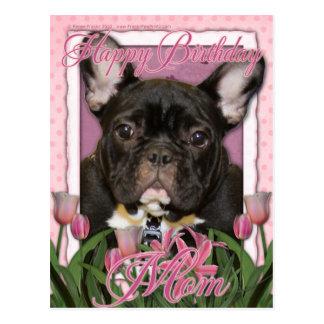 Alles- Gute zum Geburtstagmamma - französische Postkarten