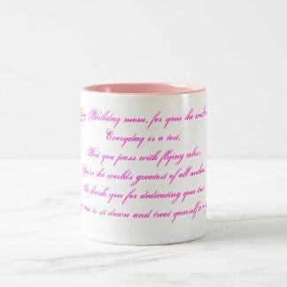 Alles Gute zum Geburtstagmamma, für Ihr die Welten Tee Tassen