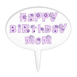 Alles- Gute zum Geburtstagmamma-Gänseblümchen-Kuch Torten Aufsätze