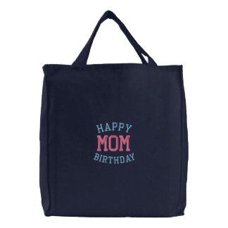 Alles- Gute zum Geburtstagmamma gestickte Taschen- Bestickte Tasche