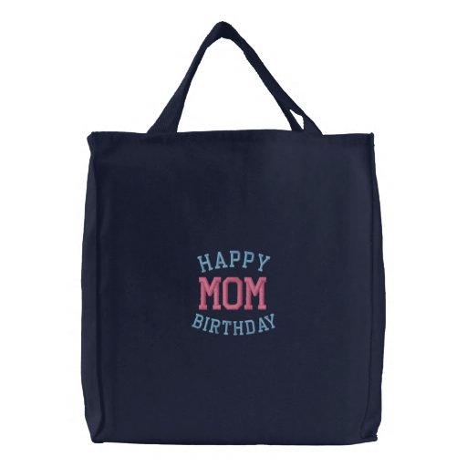 Alles- Gute zum Geburtstagmamma gestickte Taschen-