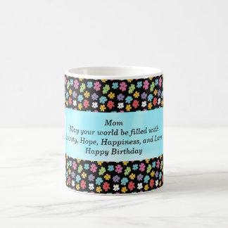 Alles- Gute zum Geburtstagmamma-Kaffee-Tasse Verwandlungstasse