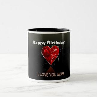Alles- Gute zum Geburtstagmamma-Kaffee-Tasse Zweifarbige Tasse