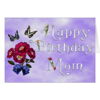 Alles Gute zum Geburtstagmamma Karte