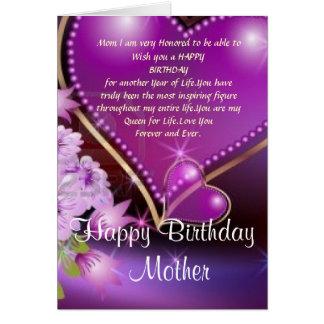 Alles- Gute zum Geburtstagmamma Grußkarten