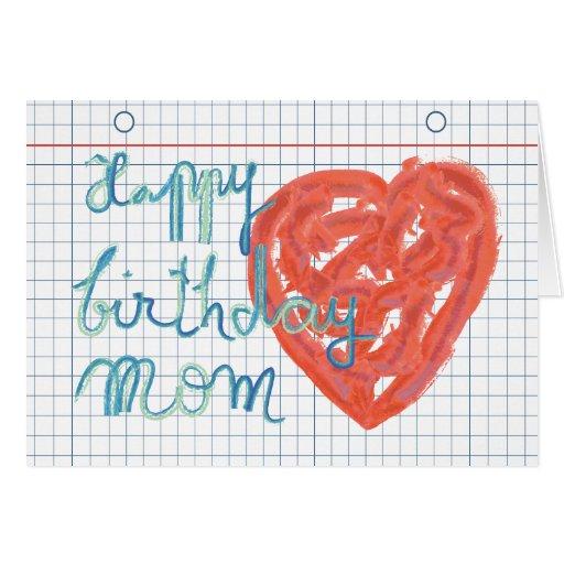 Alles- Gute zum Geburtstagmamma-Karte